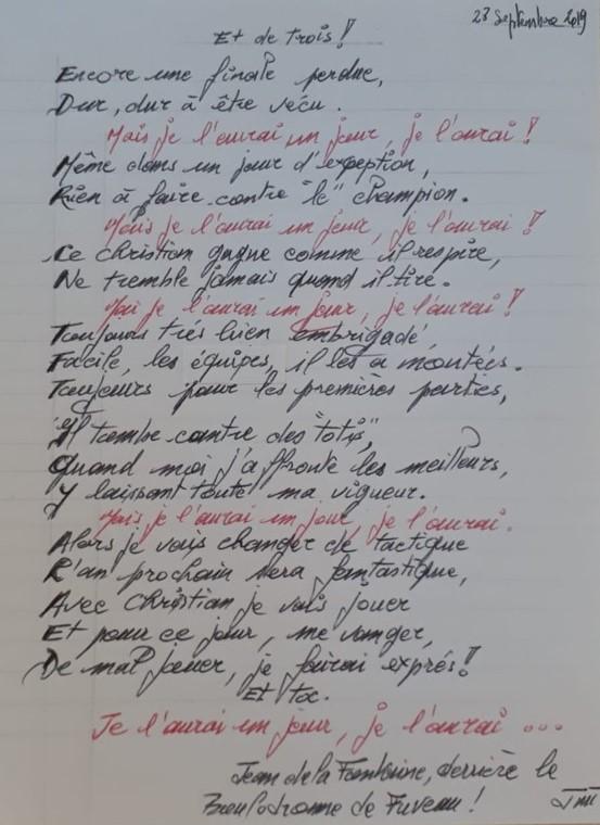 Poème Jean 2019 09 28 Les Boules